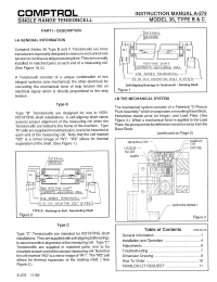 Model 36 Type BandC Tensioncell Manual A 279
